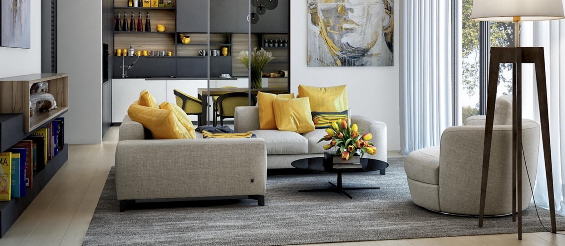 yellow-design-scheme-lounge-apartment