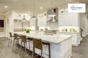White Kitchen Design Luxurious Home